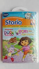 VTECH Storio Software ~ Dora the Explorer & les trois petits cochons ~ FACTORY SEALED