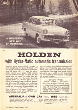 """1961 EK HOLDEN SPECIAL AD A4 POSTER GLOSS PRINT LAMINATED 11.7/""""x8.3/"""""""