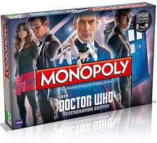 MONOPOLY DOCTOR WHO DOTTOR DR BOARD GAMES GIOCO DA TAVOLA SERIE TV MONOPOLI #1