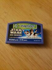 LeapFrog Leapster Explorer LeapPad Learning Cartridge Star Wars Jedi Reading