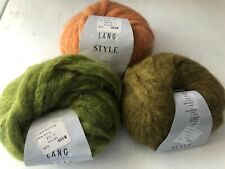 Lang ~ Style Yarn ~40 yards ~Mohair Blend ~Discontinued