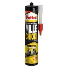 PATTEX MILLECHIODI Forte per Incollaggio Rapido Presa Immediata cartuccia 400 g.