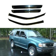 4pcs For 1991-2001 Ford Explorer 4-Door Sun Rain Guard Vent Shade Window Visors