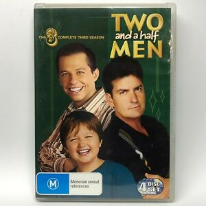 Two and a Half Men - Complete Third Season - 4 DVD Set - AusPost with Tracking
