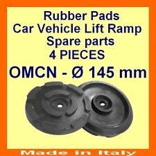 Set de 4 plaquettes de OMCN - 2 poste voiture ascenseur rampe de levage caoutchouc pads-145mm - Made in Italy - @