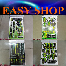 4 Sheets Sticker Decal Devil Evil Bike Dirt ATV Quad Car Ute Caravan Motorcross