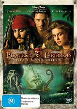 Pirates Of The Caribbean : Dead Man's Chest (2006) Johnny Depp - NEW DVD - R4