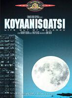 NEW Koyaanisqatsi: Life Out of Balance (DVD, 2002) MGM, 1983 RARE