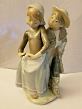 Lladro Boy meets Girl 1188 Figurine 8'' Repaired
