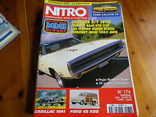 NITRO 174 SPECIAL DODGE - CADILLAC 41 - FORD 48 ROD - FORD GALAXIE 63 comme neuf