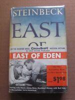 EAST OF EDEN by John Steinbeck -1st/1st HCDJ 1952 -  BITE ERROR $4.50 - wrap