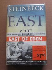 EAST OF EDEN by John Steinbeck -1st/1st HCDJ 1952 -  BITE ERROR $4.50 - wrap