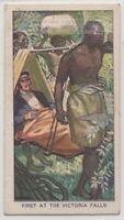 1855 Victoria Falls Africa David Livingston Vintage Trade Ad Card