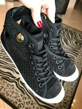 Louis Vuitton sneakers 40,5 (US10) Authentic  Black perforated suede