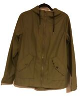 BNWT Primark Khaki Green Lightweight Parka Anorak Raincoat Festival Size Medium