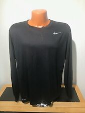 Mens The Nike Tee L/S Athletic Cut T-Shirt Size Extra Large XL - Polyester