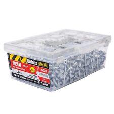 Buildex METAL TEK SCREWS 10-16x16mm 1000Pcs Climaseal Hex Head With Seal GREY