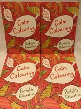 Calm Colouring Book Gift Anxiety Stress Symptom Relief Reliever
