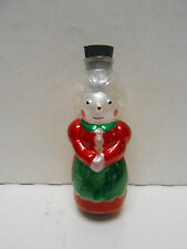 AVON  VINTAGE  GLASS  LIGHT  COVER  MRS.  CLAUS New in Box with Instructions