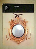 Skinner Americana 1989 Auction Masonic Lodge Candlesticks Gilt Girandole Mirror