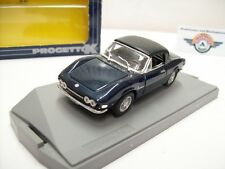 "FIAT DINO SPYDER 2000 ""SOFT TOP"", Blu met., 1972, progetto (Made in Italy) 1:43"