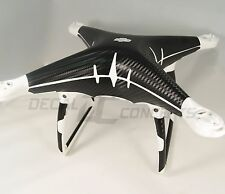 DJI Phantom 4 Full body Carbon Fiber Skin Graphic Wrap Decal Sticker