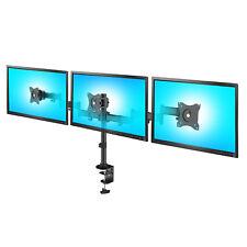 Dreifach Tischhalterung Monitorarm 360° Monitor Universal Halterung  13-27 Zoll