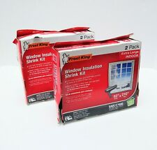 Lot of 2 Packs Indoor Window Insulation Kit Xl Seal 2 per Pack