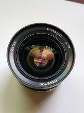 [Near Mint] Carl Zeiss Distagon HFT 18mm f/4 lens for Rollei SL2000 / SL35, QBM