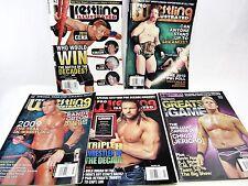 5 Lot - Pro Wrestling Illustrated 2010 Orton, Triple H, Jericho Sheamus Kobashi
