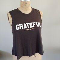 NWT Spiritual Gangster Grateful Crop Tank Top Womens Size XS Cropped Retail $48
