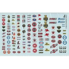 Gofer 11006 Racing Sponsors Decal Sheet 1/24 and 1/25