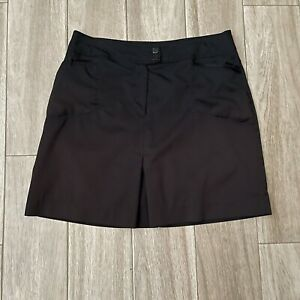 TAIL Women's  Size 10 Black Athletic Skirt with Shorts - Skort