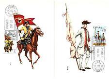 SPAIN - SPAGNA - 1974 - Uniformi militari (3) su 5 maximum - (B)