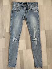 @ LTB * JULITA X * Destroyed * Jeans Hose * Gr. 25 / 30 * TOP *