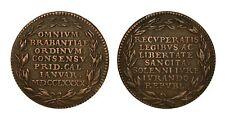 BELGIO Brabant Token 1790 Per il ritorno della Libertà