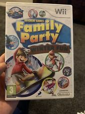 30 Great Games Family Party: Winter Fun Nintendo Wii Game Inc Manual FREE P&P