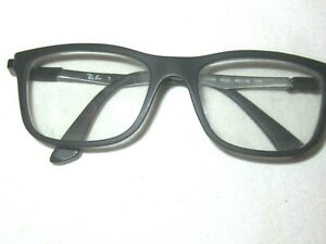 Authentic Ray-Ban Eyeglasses RB 1549 3633 Black/Gray Frame Only 48[]16 125
