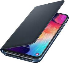 Genuine Samsung Galaxy A50 - Wallet Cover / Case - Black - New