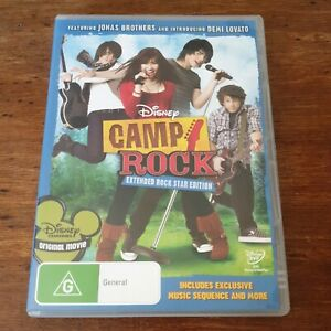 Camp Rock Disney DVD Extended Rockstar Special Edition R4 Like New! FREE POST