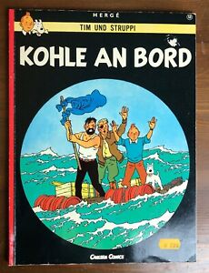 Tim Und Struppig HOHLE AN BORD Herne Carlsen Comics PB German Edition