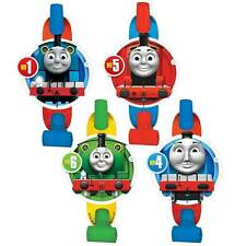 (8ct) Thomas the Tank Engine Party Supplies Birthday Blow Outs