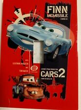 Cars 2 Switch Plate featuring Tow Mater and Finn McMissle