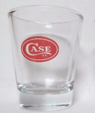 Case Knives Logo on A clear Shot Glass