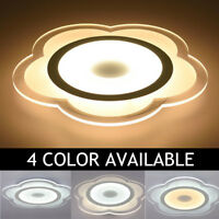 Modern Flower Shape Acrylic LED Ceiling Light Living Room Bedroom Home Lamp