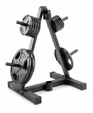 Weider Weight Plate and Barbell Storage Rack - 210 Lbs Max Weight. SHIPS TODAY!!