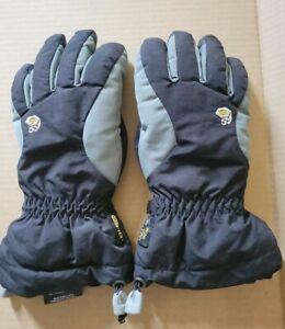 Mountain Hardware GORE-TEX Gloves Black/Grey Size SMALL S