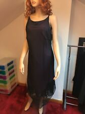 Dorothy Perkins Black/Purple Strappy Dress Size 18 New