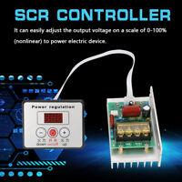 Electronic Regulator AC220V High Power SCR Speed Controller Control Motor New