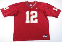 Vintage 90s Florida State Seminoles FSU Nike Team NCAA Football #12 Jersey XL